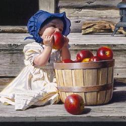 Пазл онлайн: Большое яблоко