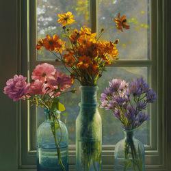 Пазл онлайн: Осень. Цветы