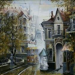Пазл онлайн: Аннушкин трамвай