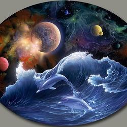 Пазл онлайн: Космический океан