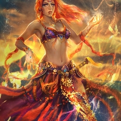 Пазл онлайн: Магия танца