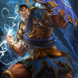 Пазл онлайн: Зевс