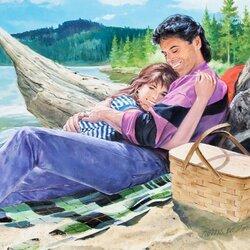 Пазл онлайн: Пикник на пляже