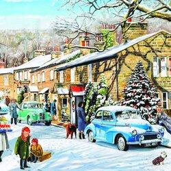 Пазл онлайн: Зимние праздники