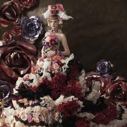 Пазл онлайн: Свадебные платья