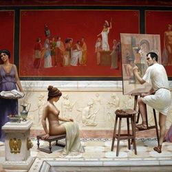 Пазл онлайн: В античной мастерской