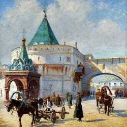 Пазл онлайн: Старая Москва