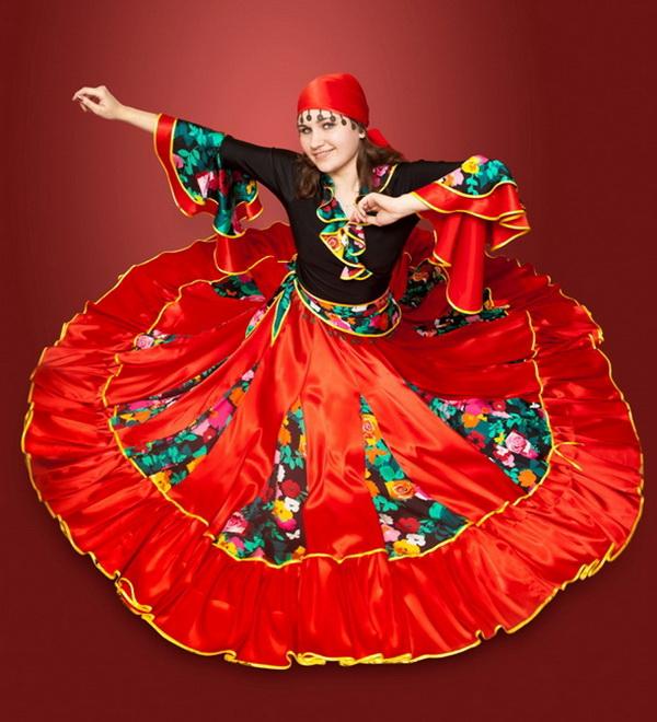 Цыганские костюмы картинки