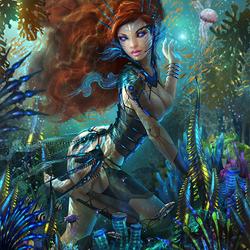 Пазл онлайн: Подводные сокровища