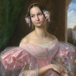 Пазл онлайн: Портрет принцессы Елены Макленбург-Шверинской