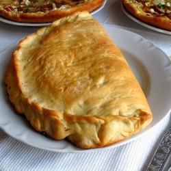 Пазл онлайн: Итальянская закрытая пицца Кальцоне