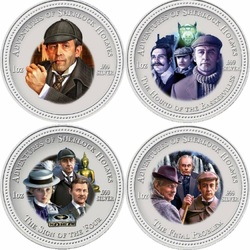 Пазл онлайн: Шерлок Холмс и доктор Ватсон