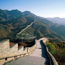 Пазл онлайн: Великая Китайская стена