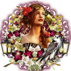 Пазл онлайн: Королевская птица