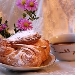 Пазл онлайн: Аппетитная булочка