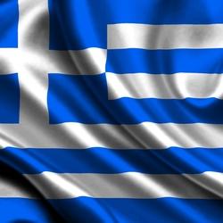 Пазл онлайн: Флаг Греции