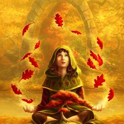 Пазл онлайн: Магия осени