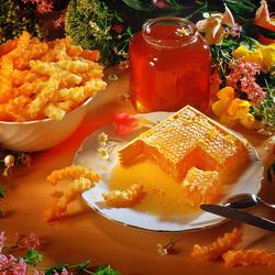 Пазл онлайн: Мёд