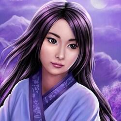 Пазл онлайн: Фантазия лунной ночи