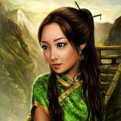 Пазл онлайн:  Восточная фантазия