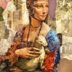 Пазл онлайн: Комплимент Леонардо