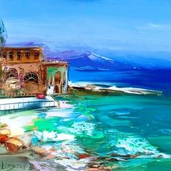 Пазл онлайн: У синего моря