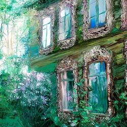 Пазл онлайн: Старый дом
