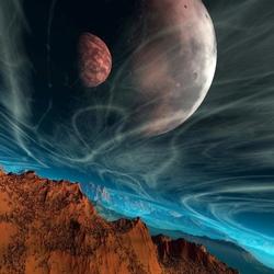Пазл онлайн: Космический вихрь