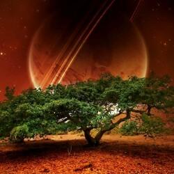 Пазл онлайн: Дерево бытия