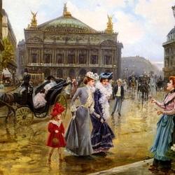 Пазл онлайн: Парижская Опера
