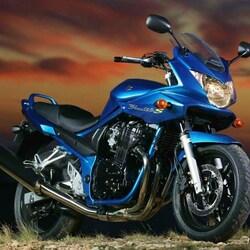Пазл онлайн: Suzuki Bandit 650