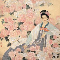 Пазл онлайн: Цветку подобен образ твой