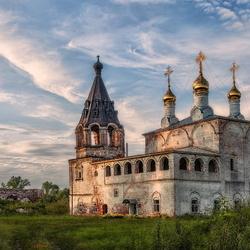 Пазл онлайн: Село Борисоглеб
