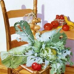 Пазл онлайн: Кухонный натюрморт