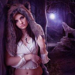 Пазл онлайн: Дочь Луны