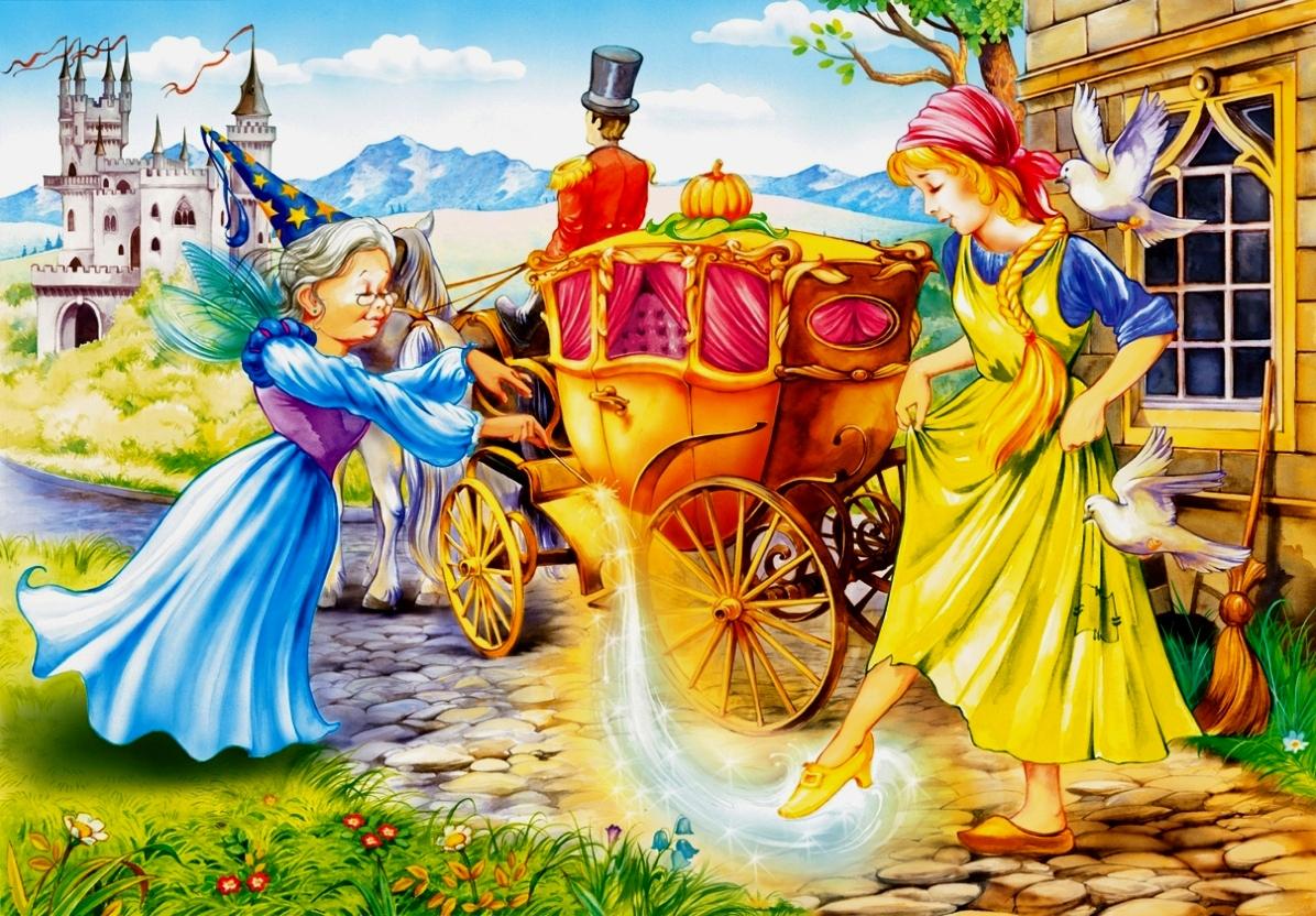 картинка эпизод из сказки золушка связать шарф
