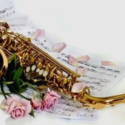 Пазл онлайн: Музыка розы