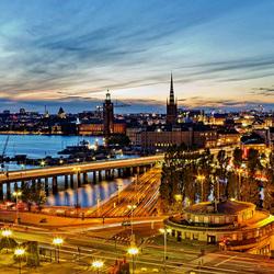 Пазл онлайн: Стокгольм. Швеция
