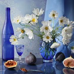 Пазл онлайн: Мой любимый синий цвет
