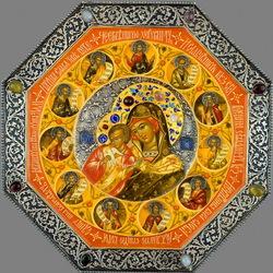 Пазл онлайн: Икона Голубицкой Божьей Матери