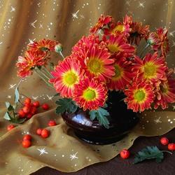 Пазл онлайн: Оранжевая гамма цветов