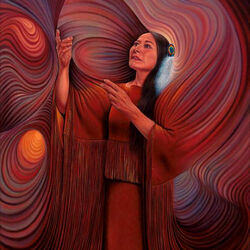 Пазл онлайн: Индейская магия в действии