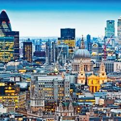 Пазл онлайн: Ночной Лондон