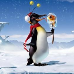 Пазл онлайн: Пингвин