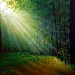 Пазл онлайн: Лучи солнца