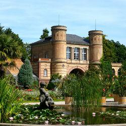 Пазл онлайн: Ботанический сад Карлсруэ. Германия