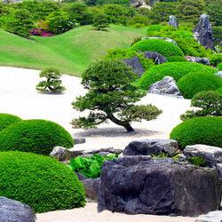 Пазл онлайн: Сад-музей. Япония