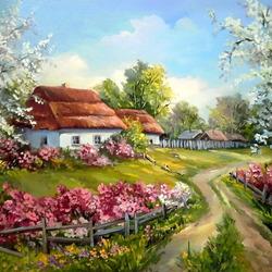 Пазл онлайн: Весна