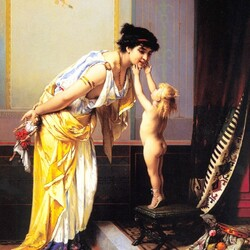 Пазл онлайн: Подарок. Жители Помпеи
