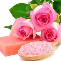 Пазл онлайн: Розовое спа